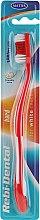 Profumi e cosmetici Spazzolino Rebi-Dental M43, con setole dure, rosso - Mattes