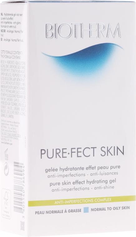 Gel idratante - Biotherm Pure.Fect Skin Hydrating Gel — foto N1