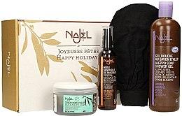Profumi e cosmetici Set - Najel (soap/200ml + b/oil/125ml + sh/gel/500ml + acc)
