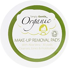 Profumi e cosmetici Salviette detergenti viso - Simply Gentle Organic Fairtrade Cotton Facial Cleansing Pads