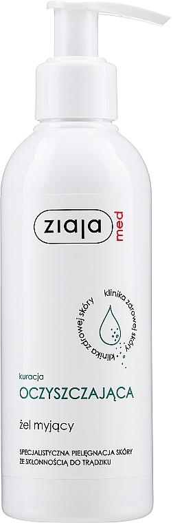 Gel detergente antibatterico per adolescenti e adulti - Ziaja Med Cleansing Gel Antibacterial For Teens & Adults