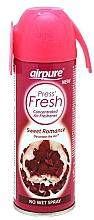 Profumi e cosmetici Spray aromatico per interni - Airpure Press Fresh Sweet Romance