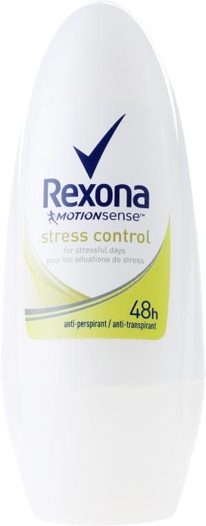 "Deodorante roll-on ""Stress Control"" - Rexona Antiperspirant Motionsense Stress Control Roll-on"