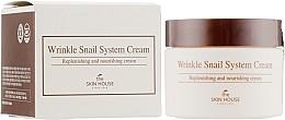 Profumi e cosmetici Crema viso antietà alla bava di lumaca - The Skin House Wrinkle Snail System Cream