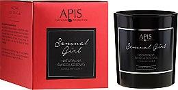 Profumi e cosmetici Candela naturale di soia - APIS Professional Sensual Girl Soy Candle