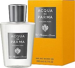 Profumi e cosmetici Acqua di Parma Colonia Pura Hair and Shower Gel - Gel doccia