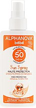 Profumi e cosmetici Spray solare per bambini - Alphanova Baby Sun Protection Spray SPF 50
