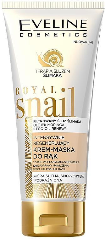 Cream-maschera, restauro intensivo delle mani - Eveline Cosmetics Royal Snai