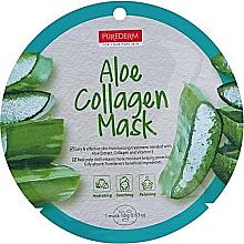 Profumi e cosmetici Maschera al collagene con aloe - Purederm Aloe Collagen Mask