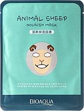 """Profumi e cosmetici Maschera in tessuto per viso a forma di animale """"Pecorella"""" - Bioaqua Animal Sheep Nourish Mask"""