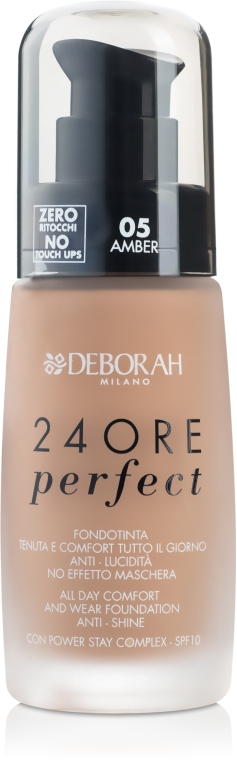 Fondotinta ad azione prolungata - Deborah 24Ore Perfect Foundation