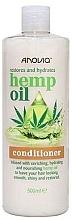 Profumi e cosmetici Balsamo per capelli all'olio di canapa - Anovia Hemp Oil Conditioner Restores and Hydrates