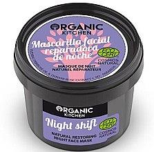 "Profumi e cosmetici Maschera viso rigenerante naturale ""Night Shift"" - Organic Shop Organic Kitchen Fase Mask"