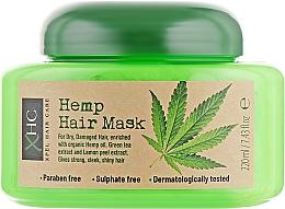 "Profumi e cosmetici Maschera capelli ""Canapa"" - Xpel Marketing Ltd Hair Care Hemp Hair Mask"