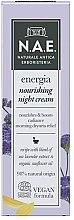 Crema viso da notte - N.A.E. Energia Nourishing Night Cream — foto N1
