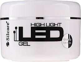 Profumi e cosmetici Gel per l'estensione delle unghie - Silcare High Light LED Pink
