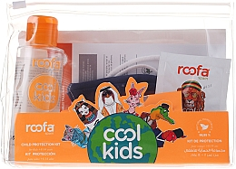 Profumi e cosmetici Set - Roofa Cool Kids (h/gel/100ml + gel/shm/3g + blue/mask/1pcs)