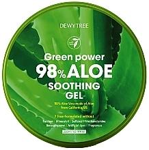 Profumi e cosmetici Gel lenitivo all'Aloe - Dewytree Green Power Aloe Soothing Gel