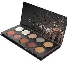 Palette ombretti - Ingrid Cosmetics Nude Matt & Glam Palette — foto N2