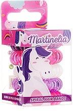 """Profumi e cosmetici Elastici per capelli """"Unicorn"""", 5 pz - Martinelia"""