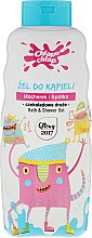 Profumi e cosmetici Gel doccia per bambini, con l'aroma di gocce di cioccolato - Chlapu Chlap Bath & Shower Gel