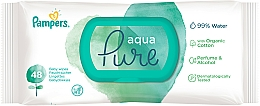 Profumi e cosmetici Salviettine umidificate per bambini , 48 pz - Pampers Aqua Pure Wipes