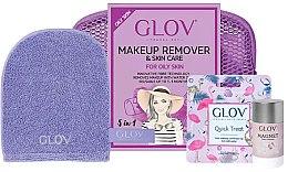 Profumi e cosmetici Set - Glov Expert Travel Set Oily and Mixed Skin (glove/mini/1pcs + glove/1pcs + stick/40g)