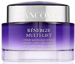 Profumi e cosmetici Crema da massaggio per viso, collo e décolleté - Lancome Rénergie Multi-Lift Massaging Cream