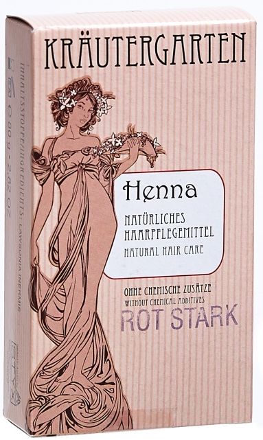 Henné in polvere, rosso intenso - Styx Naturcosmetic Henna Rot Stark