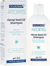 Profumi e cosmetici Shampoo con olio di canapa biologico - Novaclear Atopis Hemp Seed Oil Shampoo