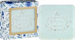 Profumi e cosmetici Sapone-scrub - Essencias De Portugal Violet And Apricot Kernel Scrub Aromatic Soap