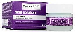 Profumi e cosmetici Balsamo viso nutriente rivitalizzante - Bella Aurora Night Solution Repairing Nourishing Balm