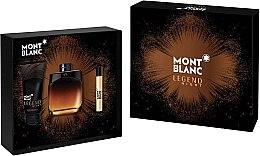 Profumi e cosmetici Montblanc Legend Night - Set (edp/100ml + edp/7.5ml + ash/balm/100ml)