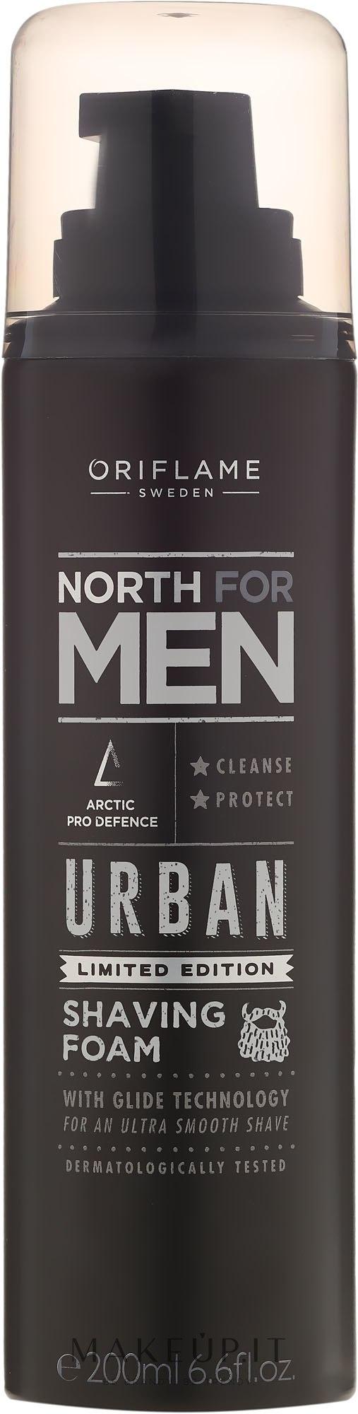 Schiuma da barba - Oriflame North For Men Urban — foto 200 ml