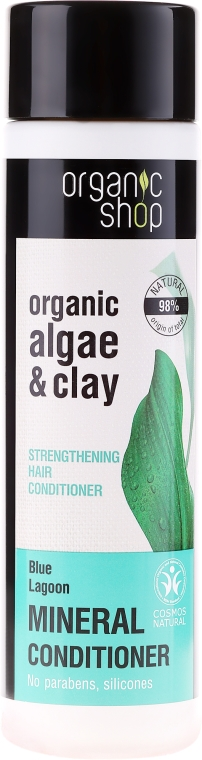 Balsamo rinforzante per capelli - Organic Shop Organic Algae and Pearl Mineral Conditioner