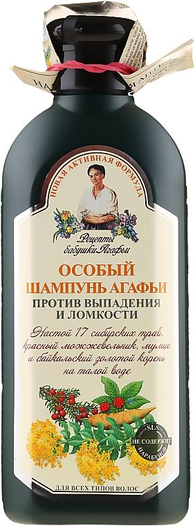 Shampoo speciale di Agafya anti-perdita e fragilità dei capelli - Ricette di nonna Agafya