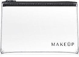 """Profumi e cosmetici Beauty case trasparente """"Flat Glow"""" 26x16cm - MakeUp"""