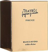 Profumi e cosmetici Candela profumata - Teatro Fragranze Uniche Bianco Divino Scented Candle