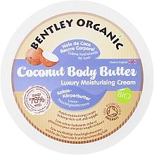 Profumi e cosmetici Burro corpo idratante al cocco - Bentley Organic Body Butter