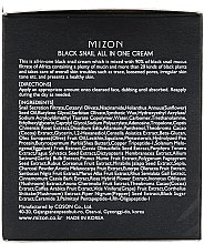 Crema con lumaca nera - Mizon Black Snail All In One Cream  — foto N3