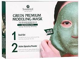 Profumi e cosmetici Maschera viso - Shangpree Green Premium Modeling Mask