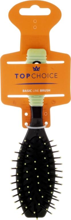 Spazzola per capelli, 2151, nero-verde - Top Choice — foto N1
