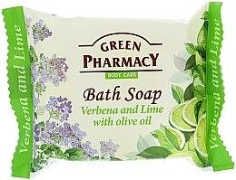 """Profumi e cosmetici Sapone """"Verbena e lime con olio d'oliva"""" - Green Pharmacy"""
