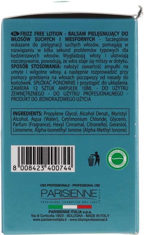 Fiale per lisciare i capelli birichini e ricci - Black Professional Line Anti-Frizz — foto N3