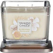 Profumi e cosmetici Candela profumata in vetro - Yankee Candle Elevation Rice Milk & Honey