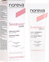Profumi e cosmetici Crema viso leggera - Noreva Laboratoires Sensidiane Legere Soothing Cream Normal Skin