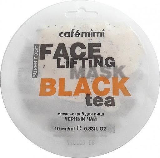 """Maschera-scrub """"Tè nero e citronella"""" - Cafe Mimi Face Mask"""