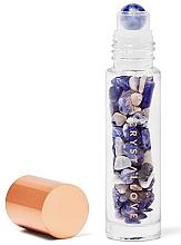 Profumi e cosmetici Bottiglia con cristalli di sodalite, 10 ml - Crystallove