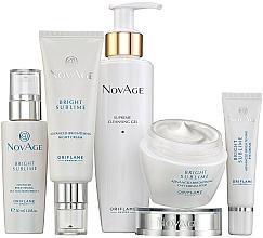 Profumi e cosmetici Set - Oriflame NovAge Bright Sublime (gel/200ml+eye/cr/15ml+ser/30ml+d/cr/50ml+n/cr/50ml)
