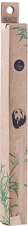 Spazzolino da denti in bambù - Beauty Formulas Eco Friendly Bamboo Tooth Brush